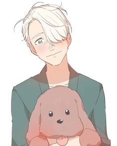 (1/2) victor is so cute??????????????? (credits to @ yam_on_ice on twitter)