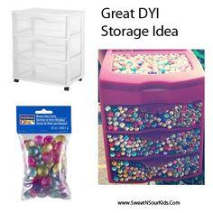 DYI storage in girls bedroom Diy Storage Dresser, Craft Room Storage, Storage Ideas, My New Room, My Room, Girls Bedroom, Bedroom Decor, Bedroom Ideas, Teenage Room