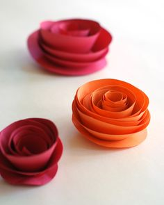 easy easy paper flowers