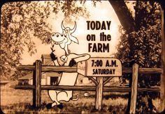 Today on the Farm    Vintage NBC Promo Slides | grayflannelsuit.net