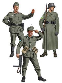 Military Photos, Military Art, Military History, Ww2 Uniforms, German Uniforms, Eastern Front Ww2, Nazi Propaganda, Military Drawings, German Soldiers Ww2