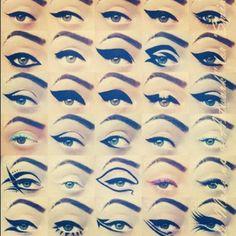Cat-eyextravaganza!! Thanks Geri Hirsch..