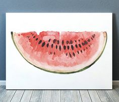 Amazing Watermelon print. Gorgeous Food decor for your home and office. Adorable…