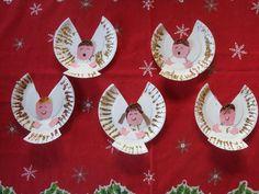 paper plate celestial angel