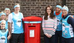 Kate, 35, hosted the athletes running for Heads Together, the mental health campaign she has spearheaded alongside the Duke of Cambridge and Prince Harry, at Kensington Palace.