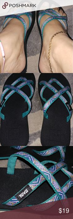 76ea418dce6f5d Teva sandles size 7 like new!!! Teva sandals size 7 like new