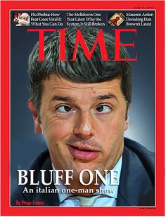 Matteo Renzi -The Time-
