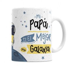 Taza Mejor Papá de la Galaxia - Sorprende a papá con un regalo #original