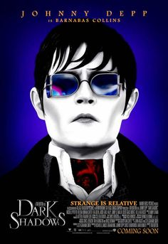 New Character Posters for Dark Shadows. Johnny Depp is Barnabas Collins. Opens May 11, 2012 - Can't Wait...!!!!