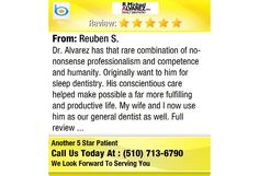 Dr. Alvarez has that rare combination of no-nonsense professionalism and competence and...