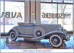 1933 Auburn 8-105 Cabriolet