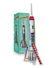 Rocket ship toy