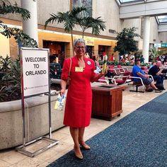 Witnessing at the Orlando, Florida International Airport.