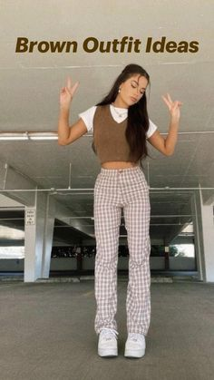 Indie Outfits, Edgy Outfits, Teen Fashion Outfits, Retro Outfits, Cute Casual Outfits, Outfits For Teens, Simple Outfits, School Outfits, Looks Pinterest