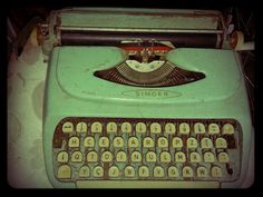 All began here... my first typewriter!