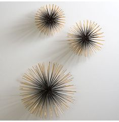 Interior HomeScapes offers the Boom Wall Sculpture by Global Views. Visit our online store to order your Global Views products today. Diy Wall Art, Diy Wall Decor, Metal Wall Art, Diy Home Decor, Metal Walls, Wall Décor, Wall Decorations, Iron Wall, Room Decor