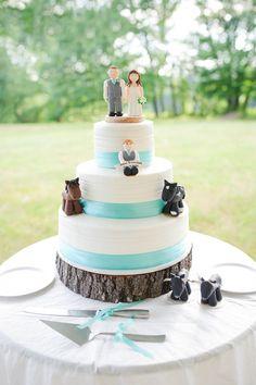 Baker: Cakes by Jane /  Photo: Trina Dinnar Photography