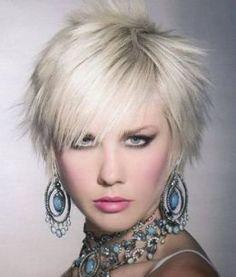 Short Funky Hairstyles for Women Pictures