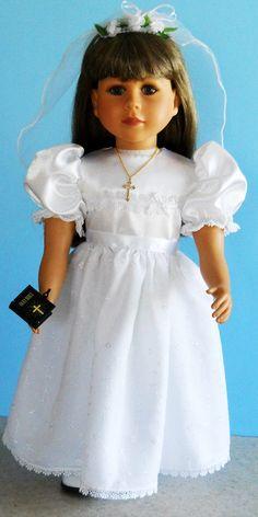 American Girl 1st Communion dress