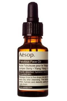 22 Global Beauty Brands You Need Now #refinery29  http://www.refinery29.com/international-beauty-brands#slide-3  Aesop Fabulous Face Oil, £40, available at Aesop.
