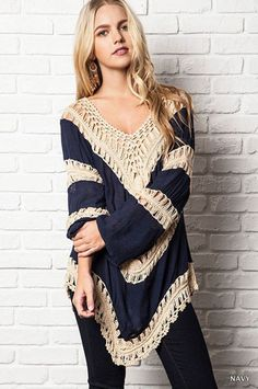 f3833bd0a4929a Knit Tunic Sweater Top - Your Closet Boutique