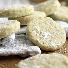 Melt in your mouth Green Tea Cookies - or what to do if you accidentally bought terrible tea.