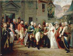 Napoleon Bonaparte and Queen Louise of Prussia