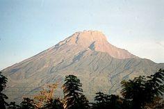 Beautiful Mount Meru in Tanzania
