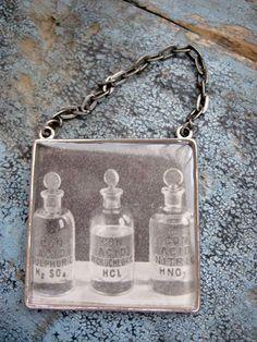 1938 Bad Acids Vintage Chemistry Nursing by LeftBrainRightBrain, $26.00