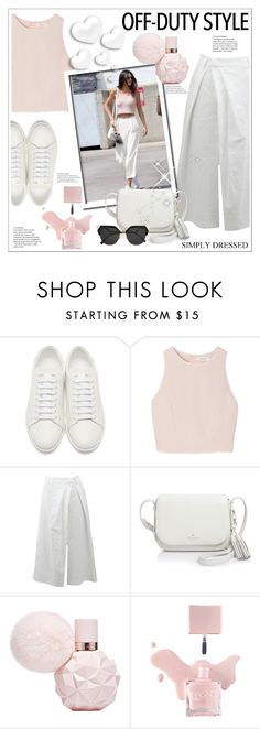 """""""Off-Duty Style"""" by stranjakivana ❤ liked on Polyvore featuring Yves Saint Laurent, SemSem, Brunello Cucinelli, Kate Spade, Fendi, Valentino and offduty"""