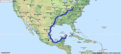 Driving Directions from 1050 Main St, Milton, West Virginia 25541 to Cancun, Mexico | MapQuest