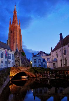 Bruges, Belgium. Went feb 2006 and then june 2008.. Better when its cold i thought