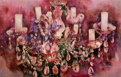 Miriam Vlaming. Glanz Und Gloria 2010. Egg Tempera On Canvas...
