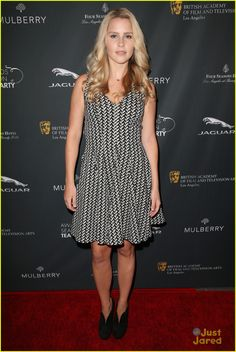 Claire Holt: BAFTA Tea Party 2014 Attendees