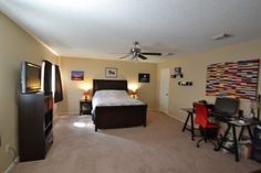471 Emerald Fields Home for Sell Kyle Texas Master Bedroom