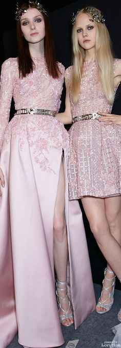 Zuhair Murad Couture Spring 2016 - Backstage