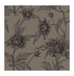 Eco Rose är en kollektion av romantiska tapeter med mönster i form av rosor, där ...