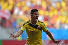 La gran estrella de Colombia, James Rodriguez