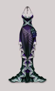 Anima: Arachne dress