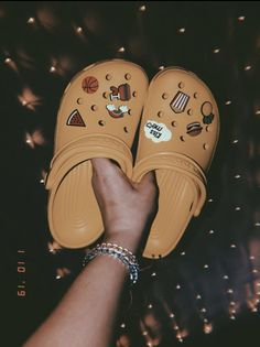 My yellow crocs 😜 ig they have become pretty popular bc I have seen them everywhere 🤩
