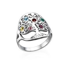 Oh!  That's different, and very pretty. Of course, I would prefer it in white gold and with genuine stones.