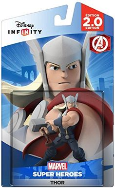 Disney Infinity Marvel Super Heroes 20 Edition Thor Figure  Not Machine Specific >>> Continue to the product at the image link.