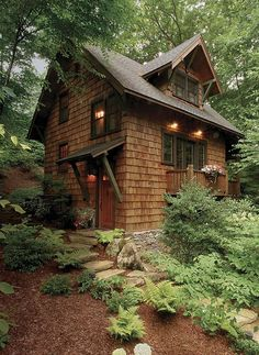 Lovely Little Cabin - by Architect Michael McDonough                                                                                                                                                                                 More
