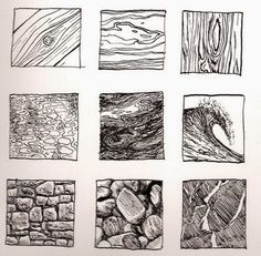 Texture and Pattern in Inorganic/Organic Drawing     When we look at the world about us, we are conscious not only of form, space, color,...