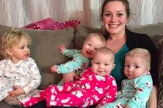 On Thursday, Whyte posted a video to Facebook to give their blog readers a glimpse into what life with four squirmy toddlers is really like.   Millions Of People Are Obsessed With This Video Of A Mom Getting Her 4 Kids Ready