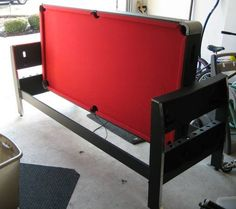 This Listing Is For A Used GAMEPOWER TRILOGY 6 FEET 3 IN 1 COMBO. Air  HockeyHockey ...