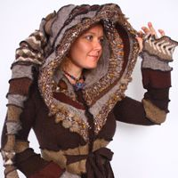 I am in love with this women's clothes on etsy... some are Bohemian apocalyptic while others invoke a sense of fantasy.