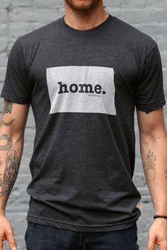 The Home. T - Colorado Home T, $28.00 I really like this concept if I was from any other state than Colorado. Because the Colorado one basically looks like I think my home is a rectangle. Which begs the question, am I living outside of the box?