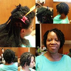 Short Senegalese Twists