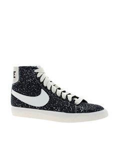 sale retailer a8da4 5b39d Image 1 of Nike Blazer Decon CVS Mid Black High Top Sneakers Black High Top  Shoes